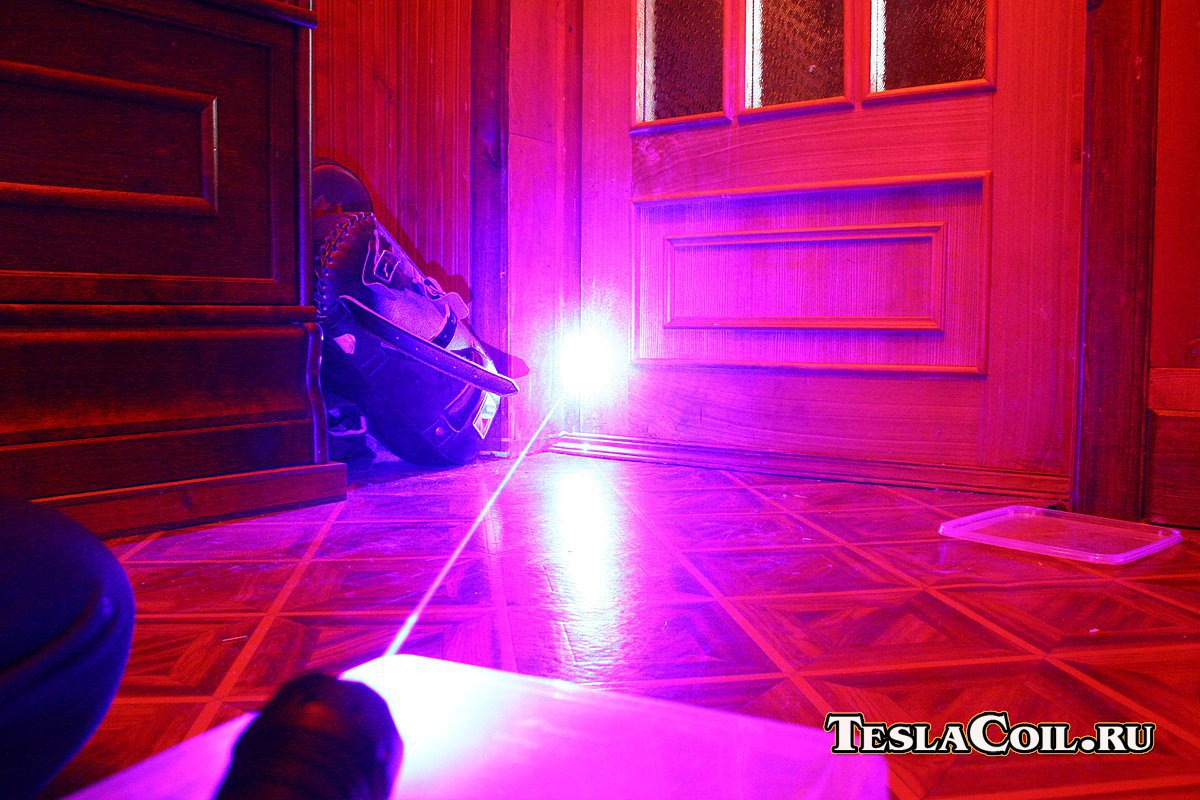 Синий 445 нм лазер 700 мВт | Катушки Тесла и все-все-все