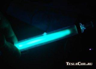 Дуговая ртутная лампа ДРТ-400.