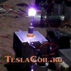 Факел с магнетрона
