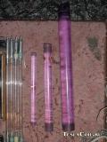 Стержни неодимового стекла: 20х250, 30х300, 45хОбломано...