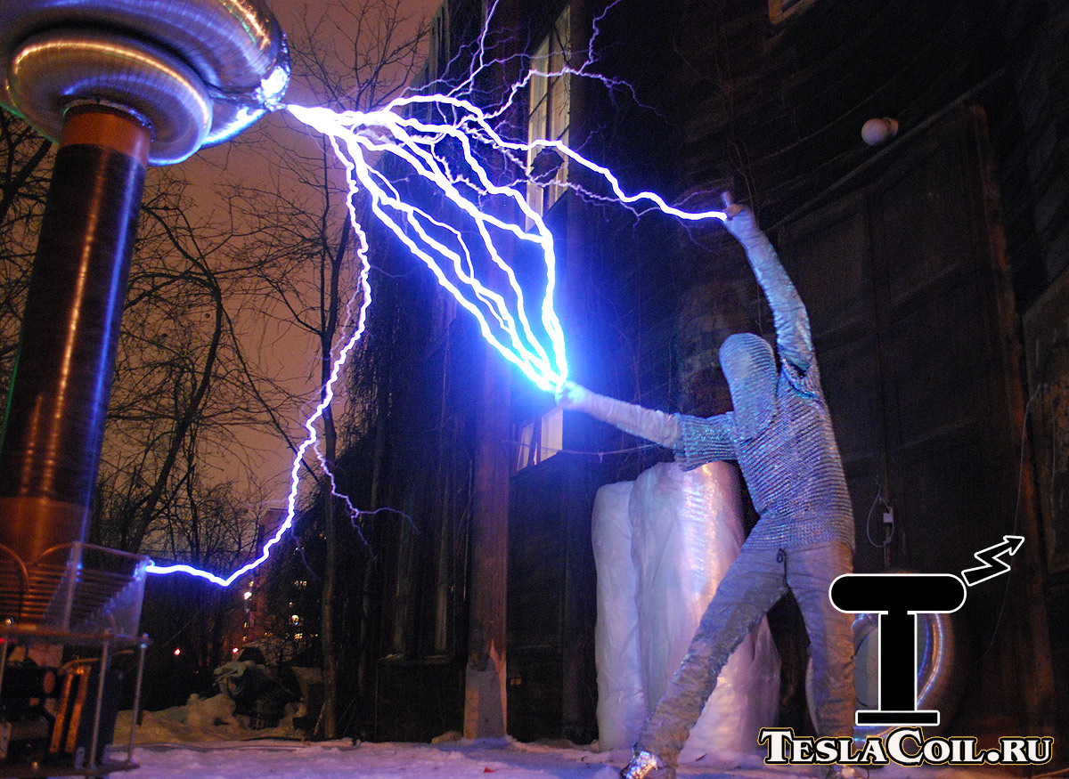 Трансформаторы Тесла   Катушки Тесла и все-все-все