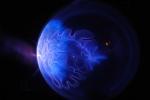 Плазмашар с ксеноном и йодом