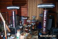 Катушки Тесла для шоу: процесс сборки