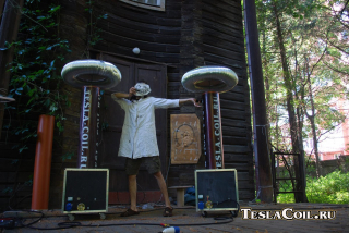 Катушки Тесла для шоу