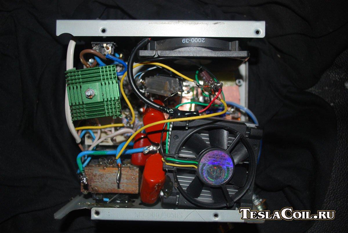 трансформатор тесла на транзисторе кт819
