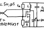 Простейший СВЧ-генератор