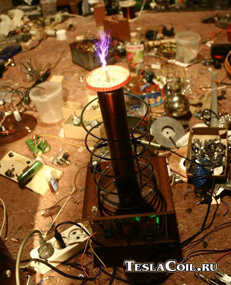 схема качера на двух транзисторах