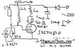 Схема сетевого качера
