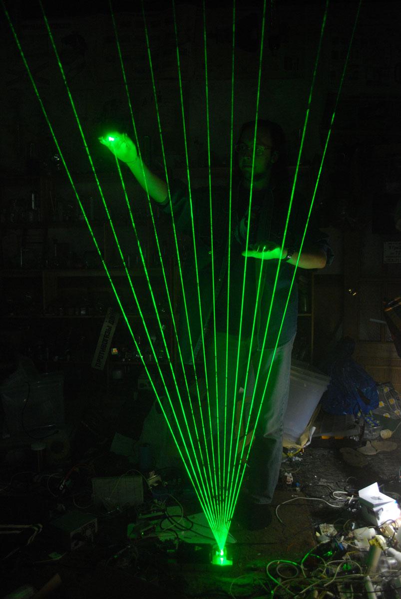 Как сделать лазерную арфу своими руками