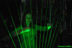 Лазерная арфа
