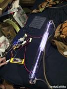 Первый запуск лазерной трубки