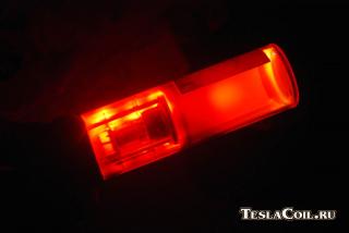 Спектральная лампа ЛТ-2 с неоновым наполнением