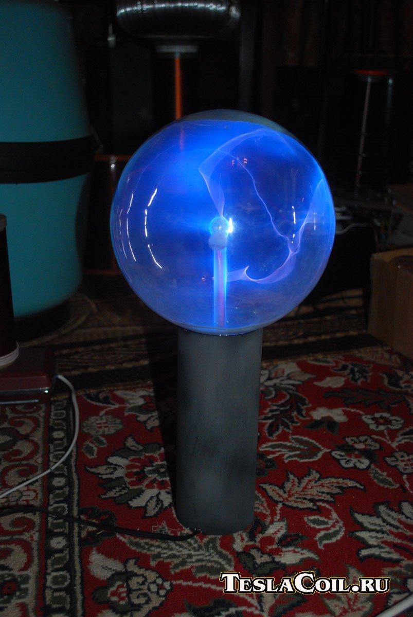 Как сделать плазменную лампу