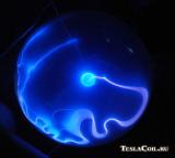 Синий плазменный шар