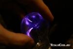 Маленькая лампочка на 60 ватт от слабенького источника