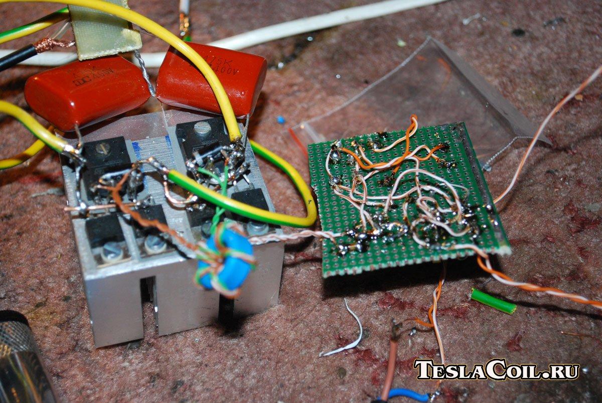 трансформатор тесла схемы расчеты